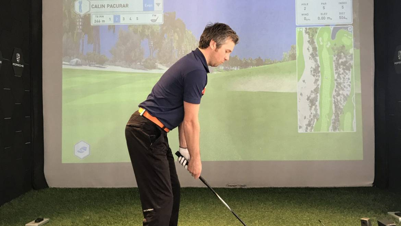 Golf indoor și simulatoare de golf în România