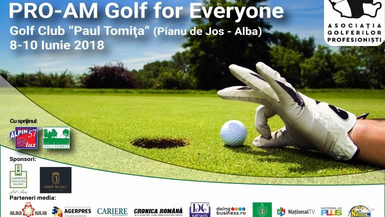 Azi comunitatea de golf din România este mai mare și mai matură