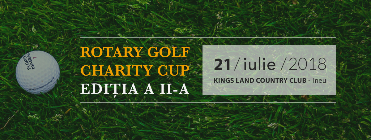 Rotary Golf Charity Cup 2nd Edition