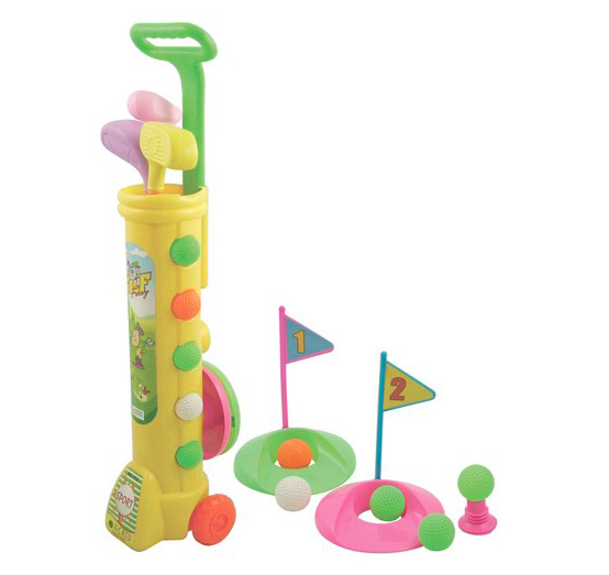 Set Crose de Jucărie - Deluxe Junior Plastic Golf Set