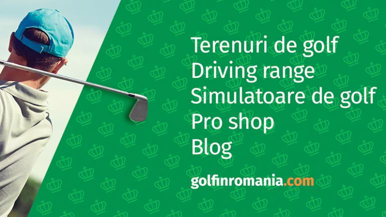 Primul PRO SHOP ONLINE din Romania este acum pe www.golfinromania.com