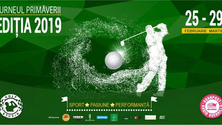 Turneul Primăverii Golf Studio România
