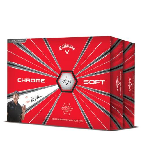 Set mingi de golf Callaway Chrome Soft ( 24 buc )