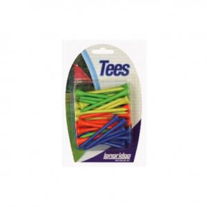 Golf Tees Neon 69 mm ( 40 buc )
