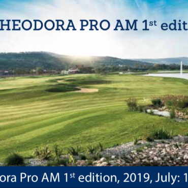 Theodora Pro Am, editia a I a , 17 – 20 Iulie 2019,  organizat de Theodora Golf Club în parteneriat cu Romanian Golf Association