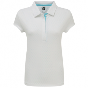 Tricou FootJoy Smooth Pique Pin Dot - Fete