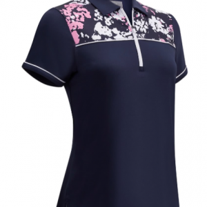 Tricou Polo Callaway Floral Shoulder Print - Fete