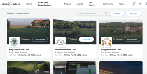 Clubs and Organizations - am.golf
