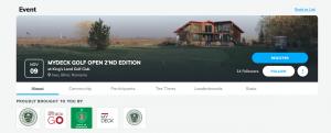 Înregistrare concurs am.golf