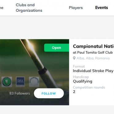 Noua platformă am.golf este online I Full Review I
