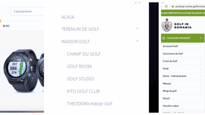 4 noutăți pe golfinromania.com