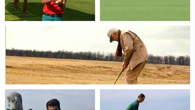 Top 5 antrenori/instructori în jocul de golf din România