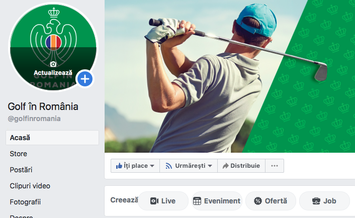 Cluburile de golf primesc acces la Facebook Golf in Romania